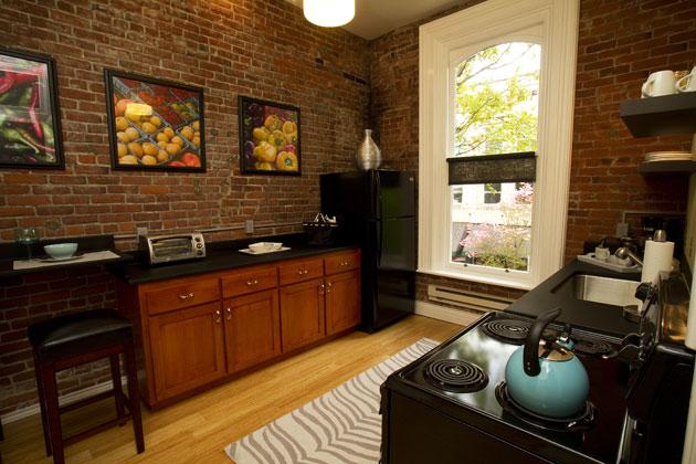 Flat 4 Kitchen • 3rd Street Flats