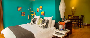 3rd Flat Bedroom • 3rd Street Flats