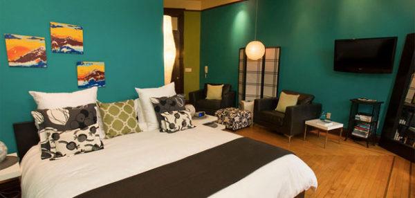 Flat 3 Studio Bedroom • 3rd Street Flats