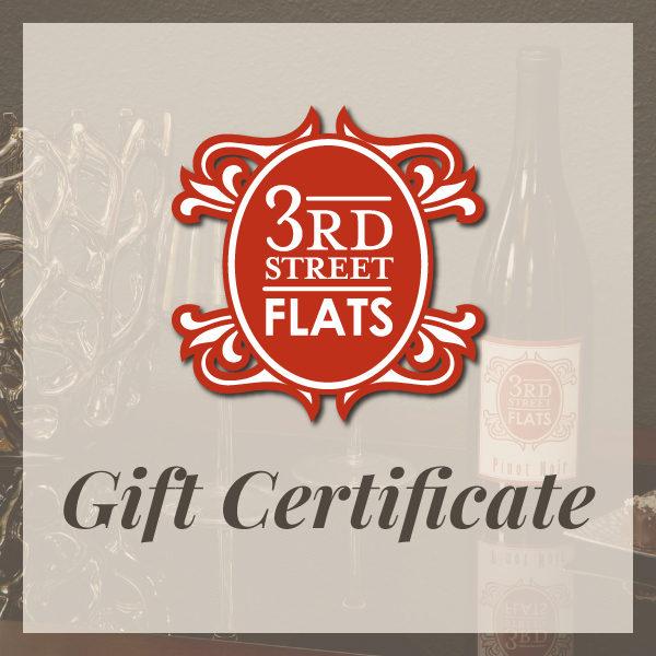 Buy a 3rd Street Flats Gift Certificate