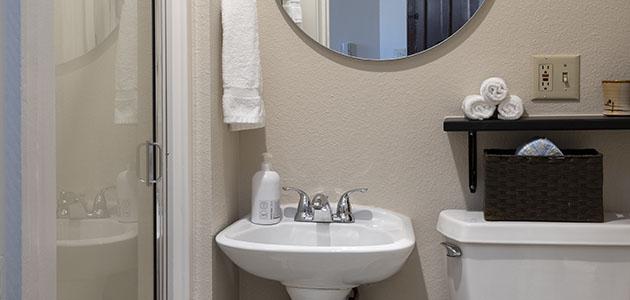 3rd Flat Bathroom • 3rd Street Flats