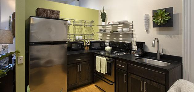 3rd Flat Kitchen • 3rd Street Flats
